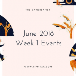 The Daydreamer - June 2018: Week 1 Events | Amman