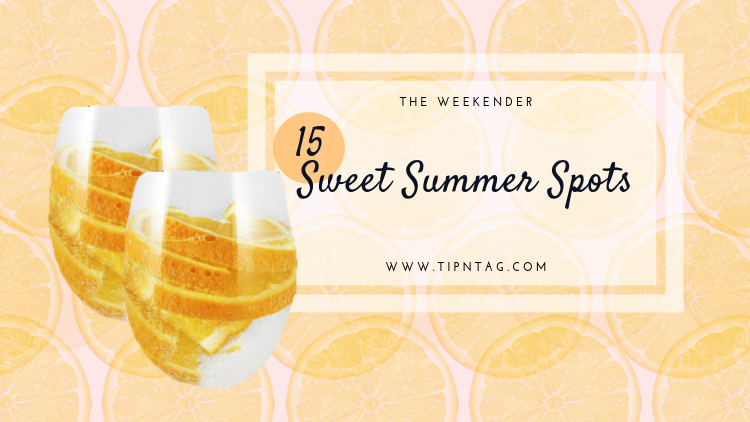 The Weekender - 15 Sweet Summer Spots | Amman