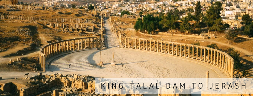 King Talal Dam to Jerash