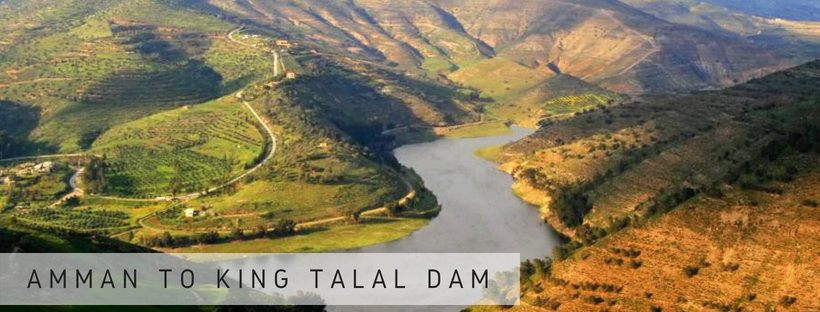 Amman to King Talal Dam