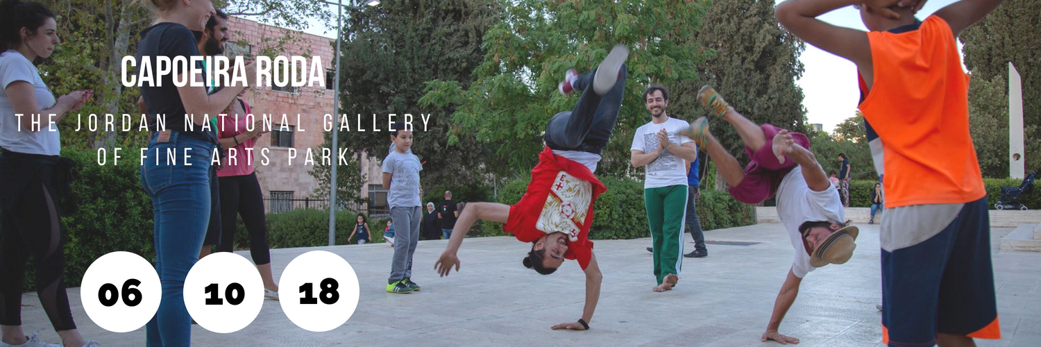Capoeira Roda - The Jordan National Gallery of Fine Arts Park