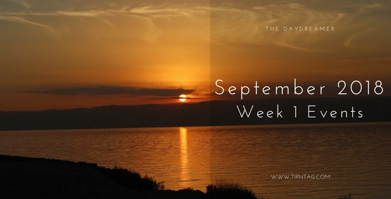 The Daydreamer – September 2018: Week 1 Events | Amman