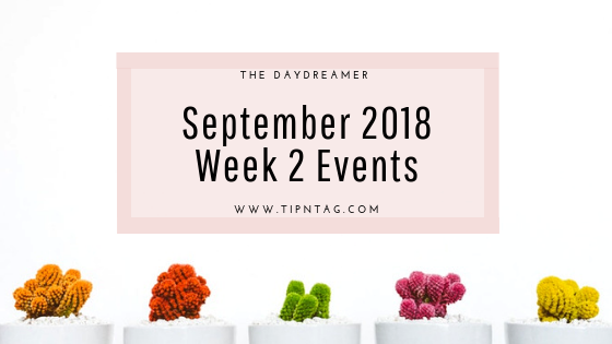 The Daydreamer - September 2018: Week 2 Events | Amman