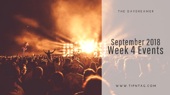 The Daydreamer - September 2018: Week 4 Events | Amman