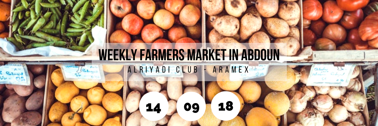 Weekly Farmers Market in Abdoun