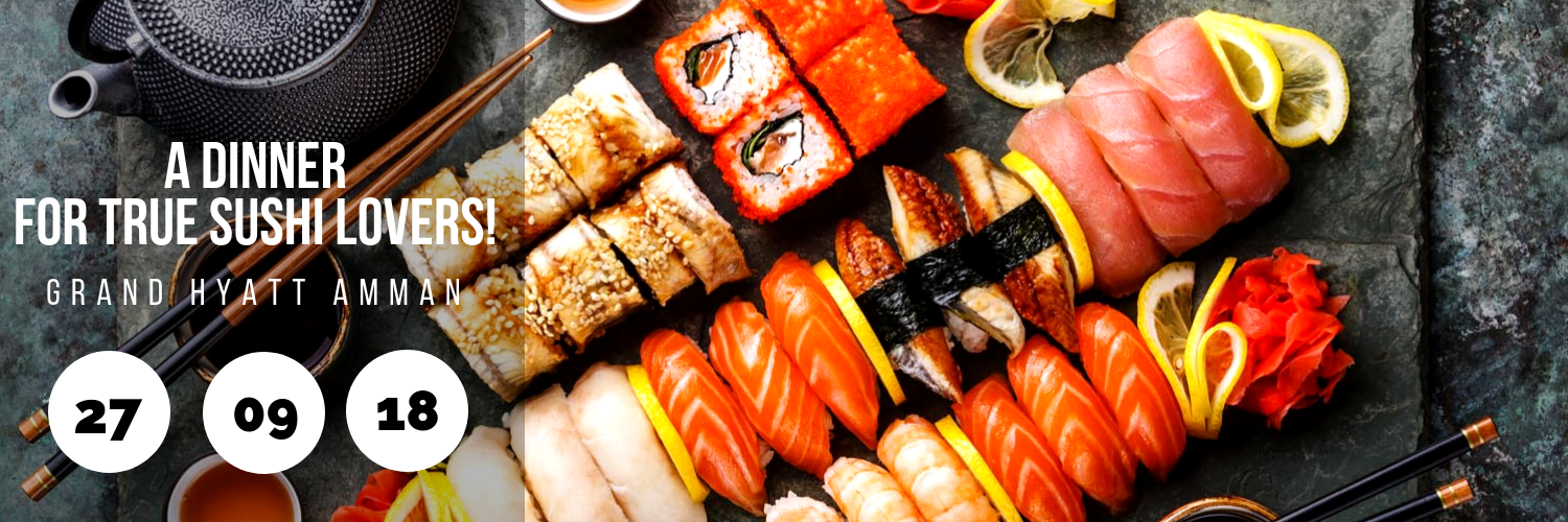 A Dinner for True Sushi Lovers!
