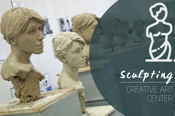 Sculpting @ Creative Art Center