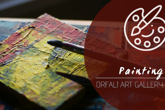 Painting @ Orfali Art Gallery