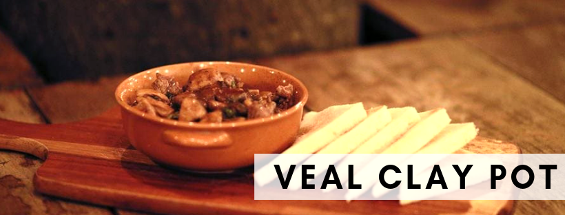 Veal Clay Pot @ Kegs - House of Ale