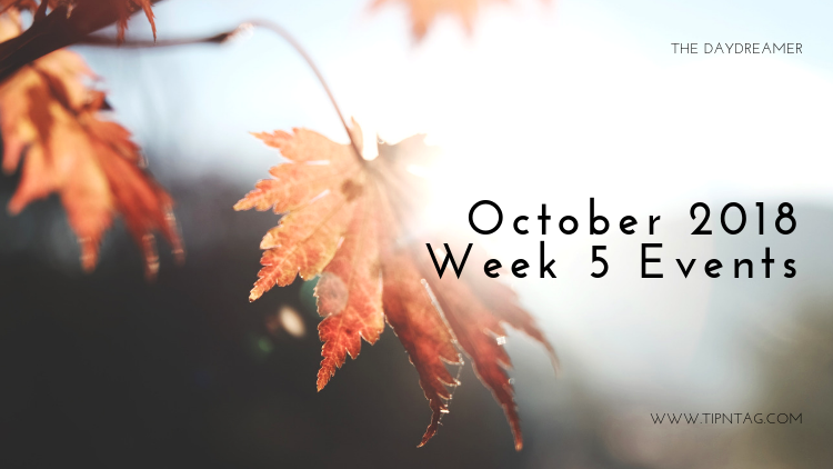 The Daydreamer – October 2018: Week 5 Events | Amman