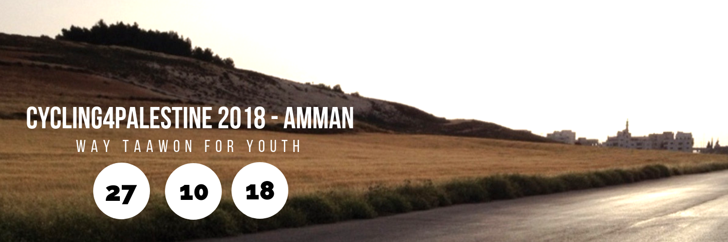 Cycling4Palestine 2018 - Amman @ WAY Taawon for Youth