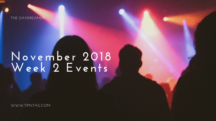 The Daydreamer – November 2018: Week 2 Events | Amman