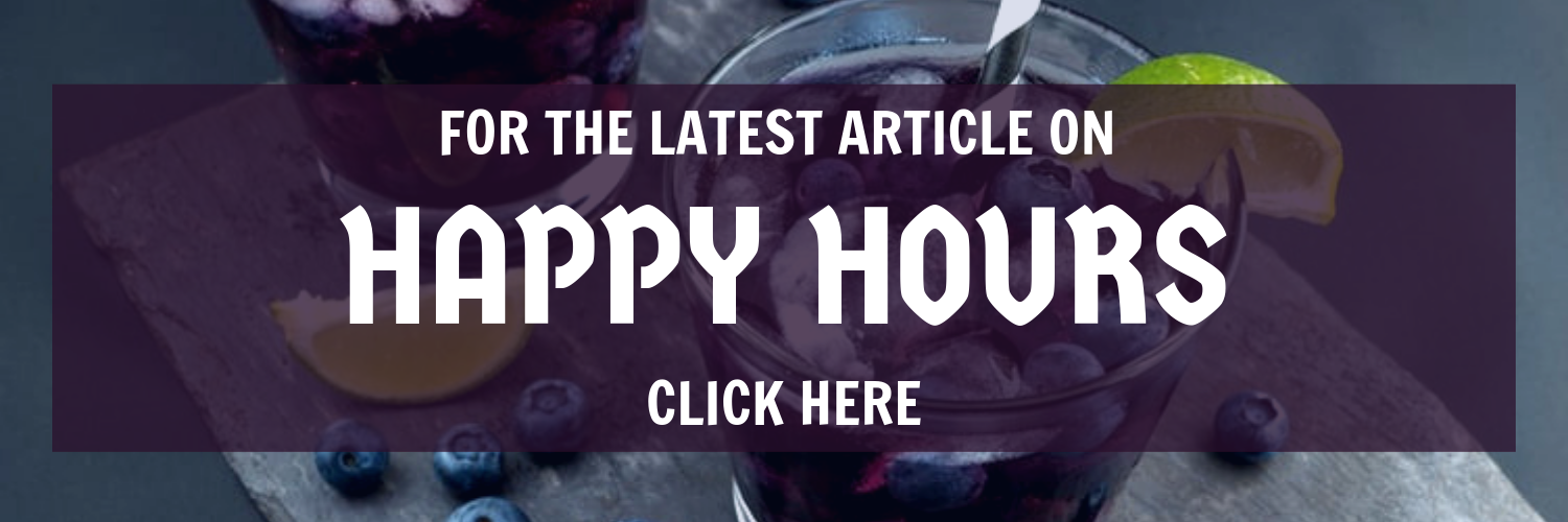 Latest Happy Hours Article