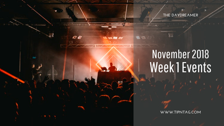 The Daydreamer - November 2018: Week 1 Events | Amman