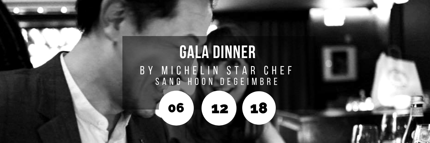 Gala Dinner by Michelin Star Chef Sang Hoon Degeimbre @ Atrium