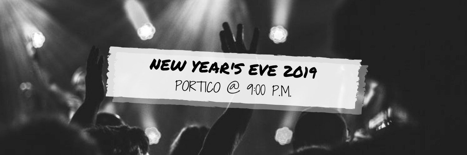 New Year's Eve 2019 @ Portico
