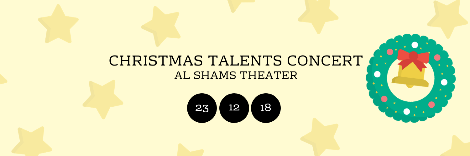 Christmas Talents Concert @ Al Shams Theater
