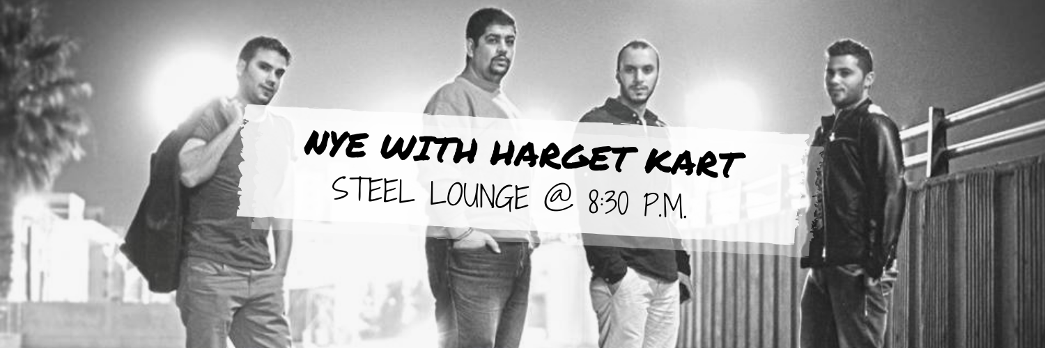New Year's Eve Party with Harget Kart @ Steel Lounge