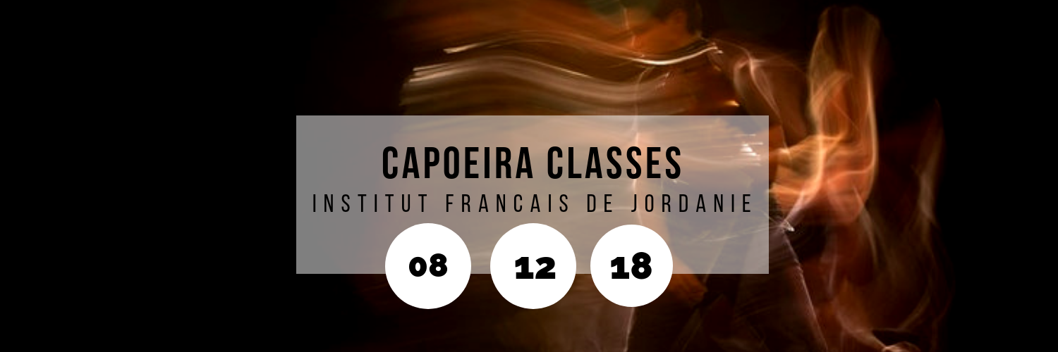 Capoeira Classes @ Institut Francais de Jordanie
