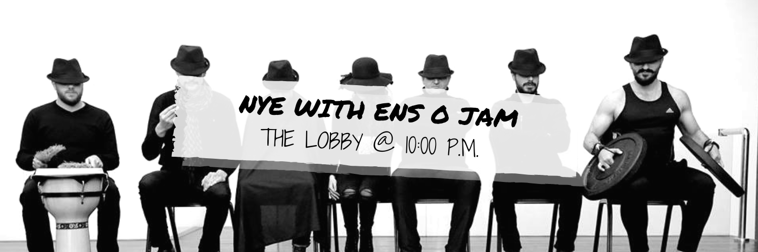 New Year's Eve with Ens O Jam @ The Lobby