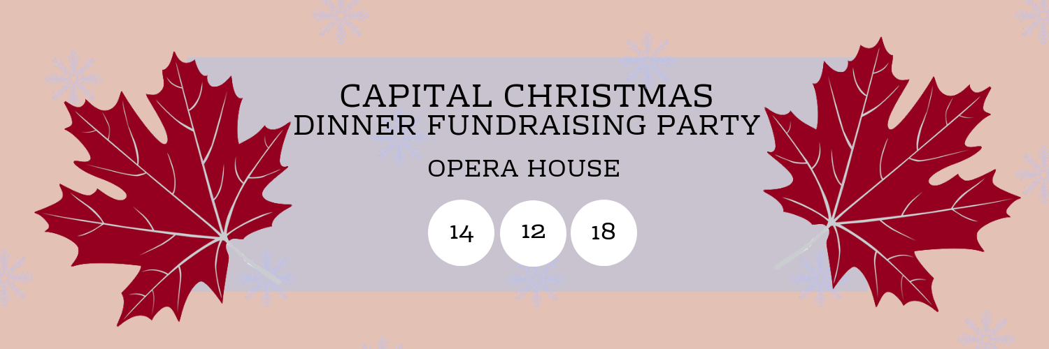 Capital Christmas Dinner Fundraising Party @ Opera House