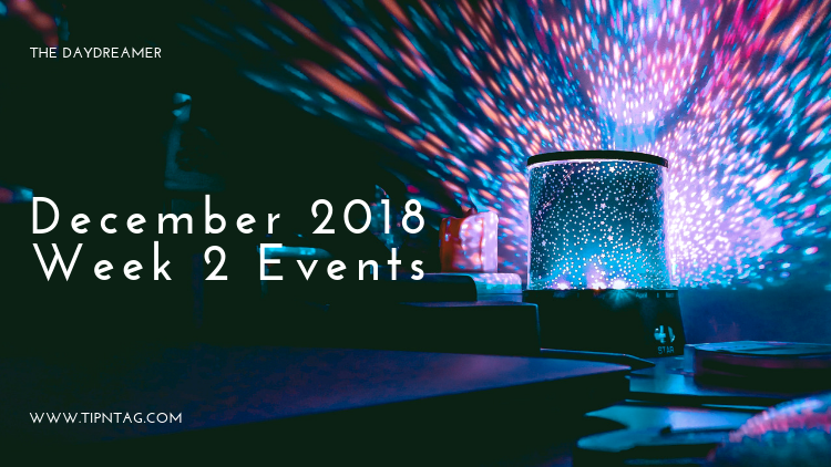 The Daydreamer – December 2018: Week 2 Events | Amman