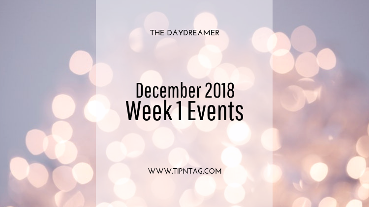 The Daydreamer - December 2018: Week 1 Events | Amman