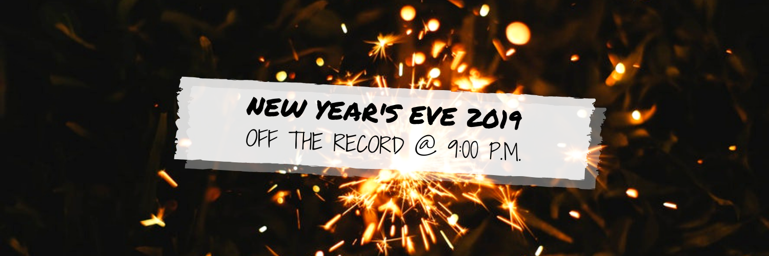 New Year's Eve 2019 @ Off The Record