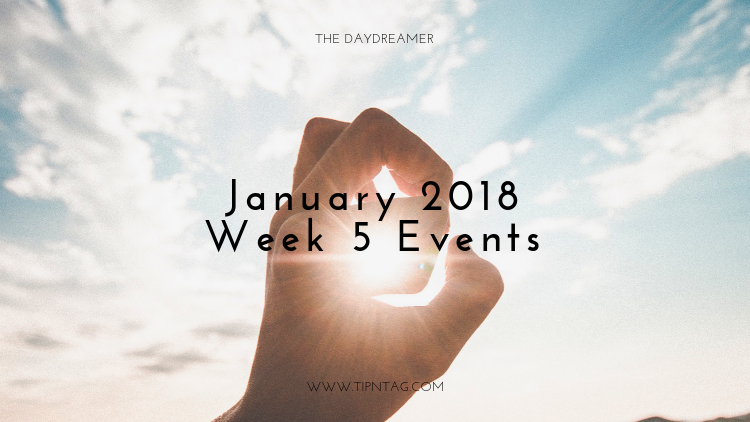 The Daydreamer – January 2019: Week 5 Events | Amman