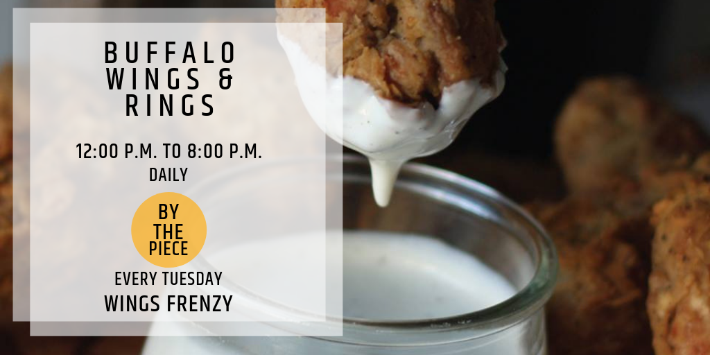 Hungry Hour at Buffalo Wings & Rings