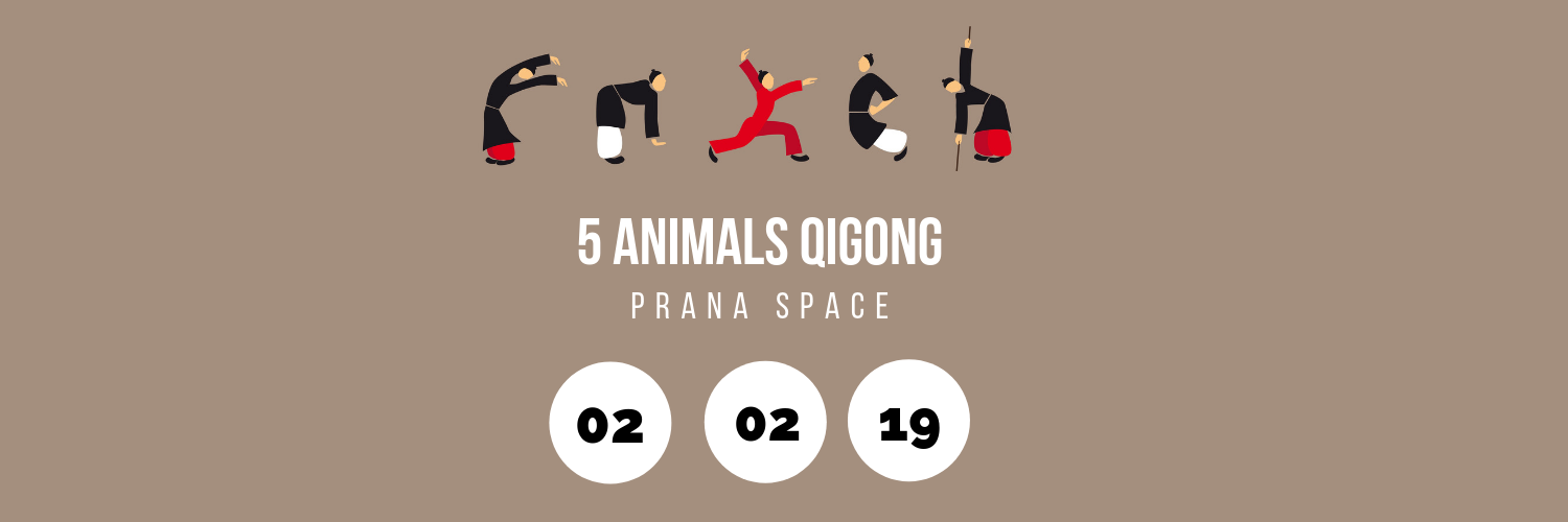 5 Animals Qigong @ Prana Space