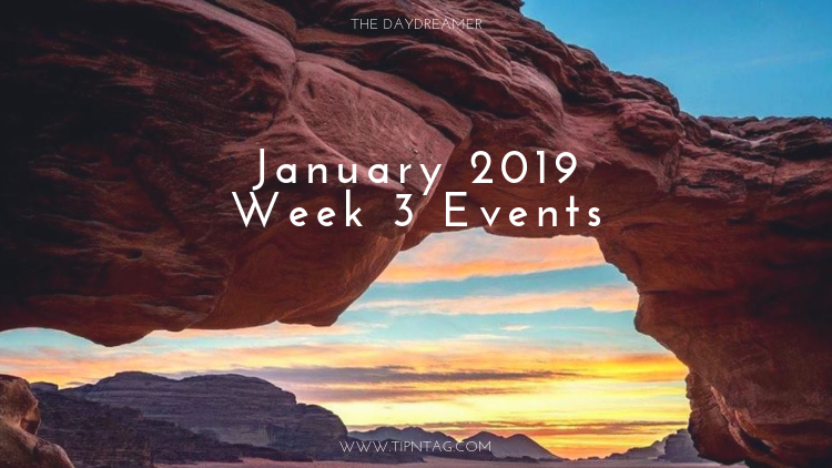 The Daydreamer – January 2019: Week 3 Events | Amman