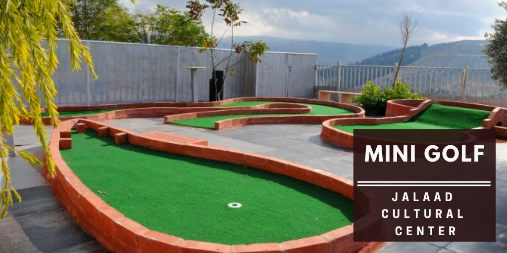 Minigolf at Jalaad Cultural Center