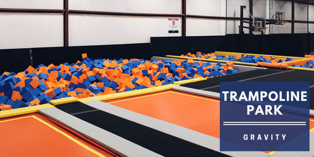 Trampoline park at Gravity Amman