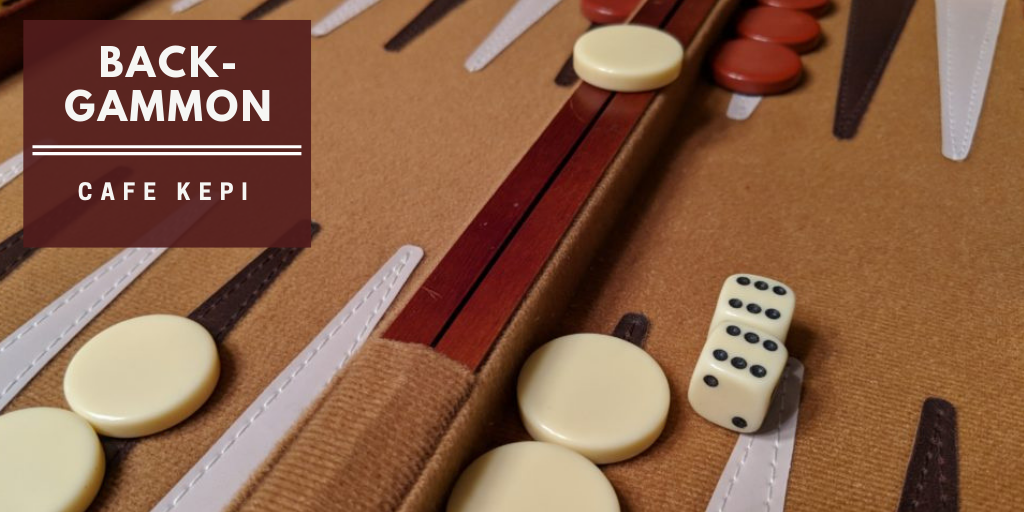 Backgammon at Cafe Kepi
