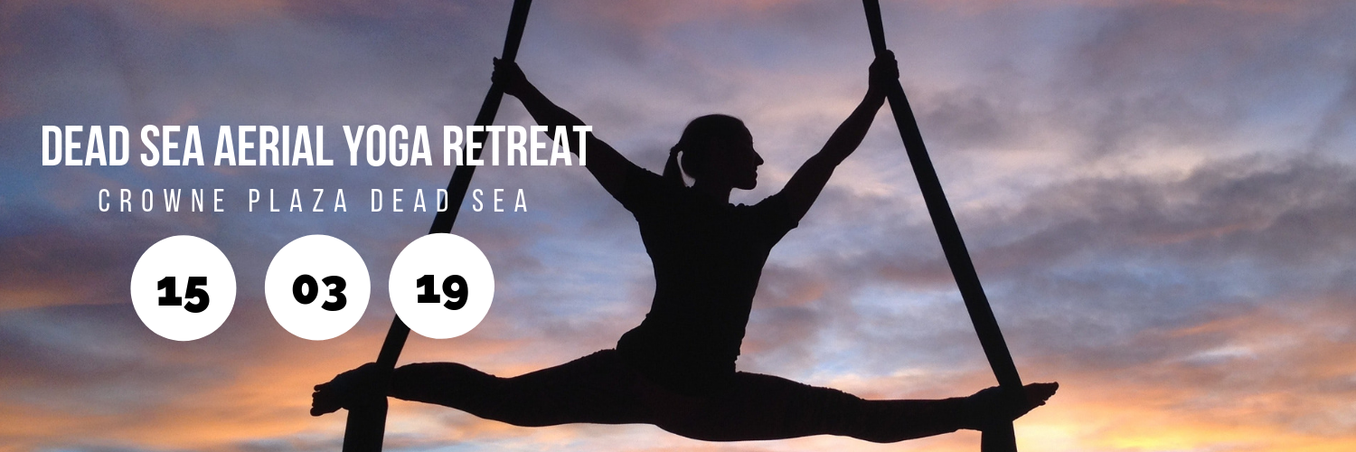 Dead Sea Aerial Yoga Retreat @ Crowne Plaza Dead Sea
