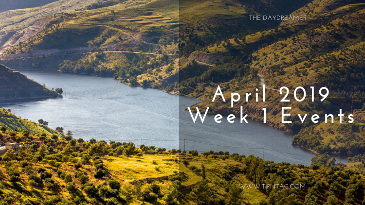 The Daydreamer - April 2019 Week 1 Events | Amman