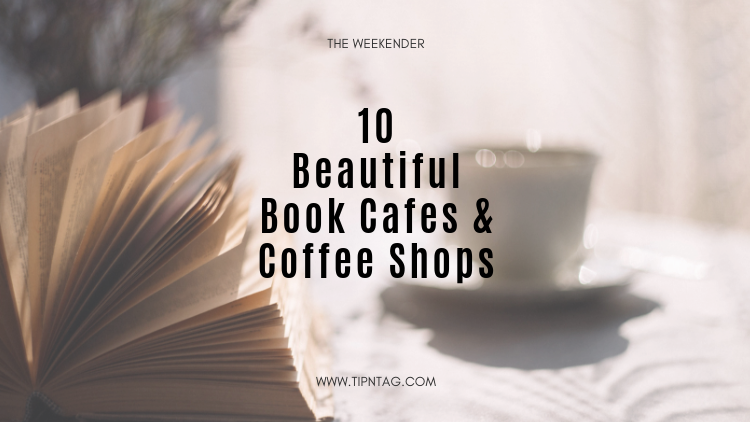 The Weekender - 10 Beautiful Book Cafes & Coffee Shops | Amman