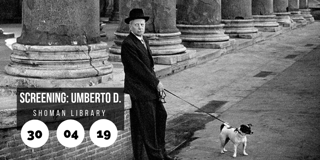 Film screening: Umberto D @ Shoman Library