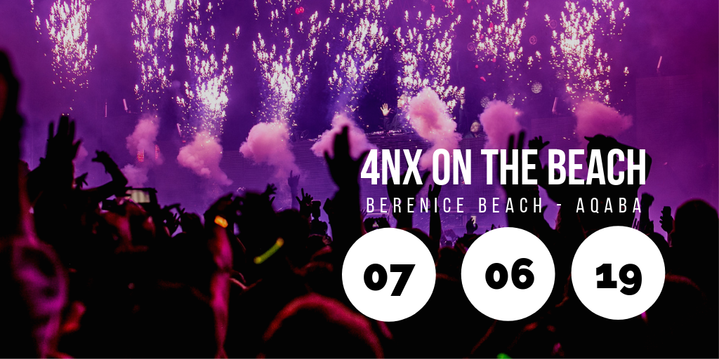 4NX on the Beach @ Berenice Beach Club