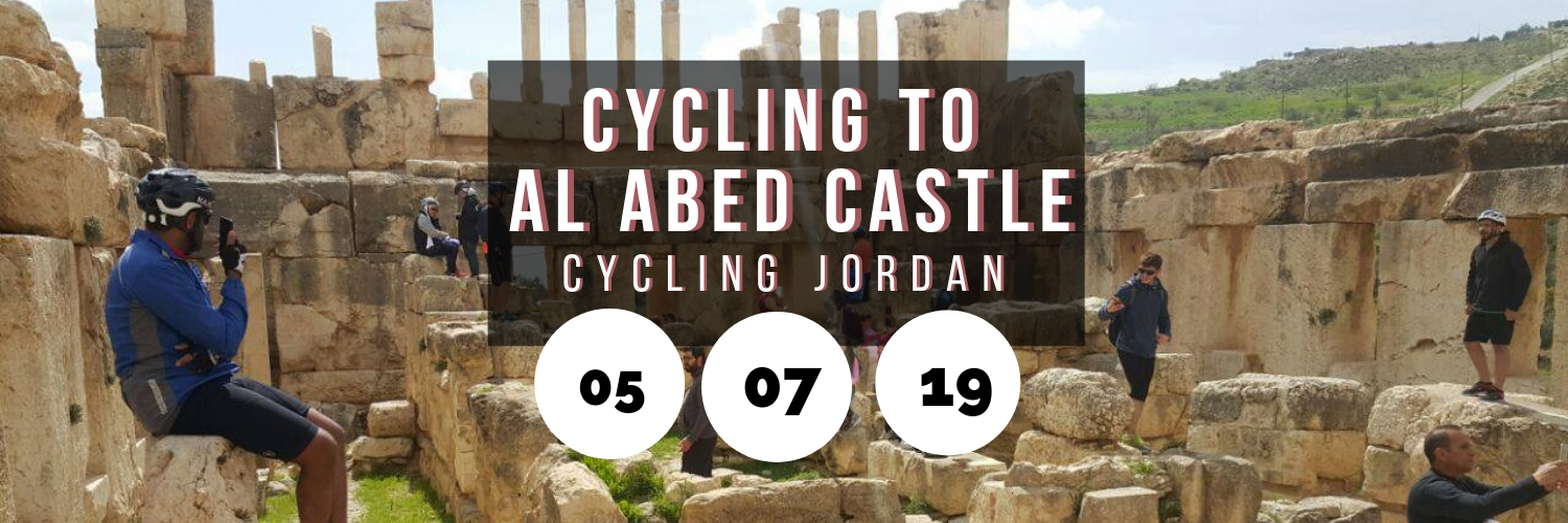 Cycling to Al Abed Castle @ Cycling Jordan