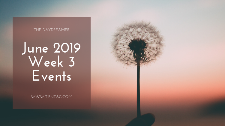 The Daydreamer - June 2019: Week 3 Events | Amman
