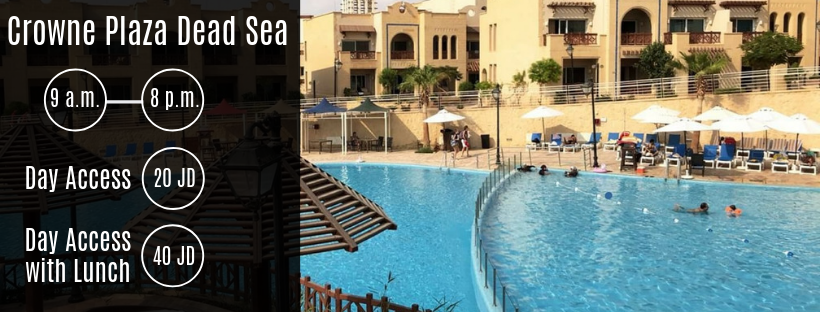 Swimming Pools at Crowne Plaza Dead Sea