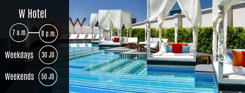Swimming Pool at W Hotel