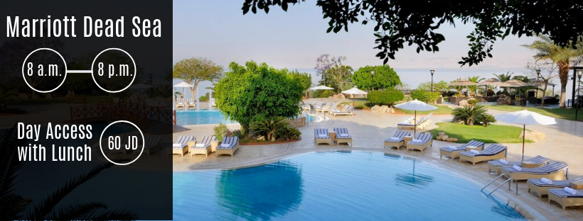 Swimming Pools at Marriott Dead Sea