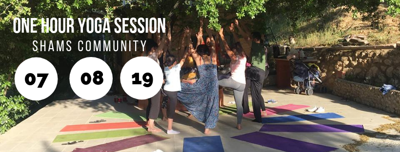 Yoga Session @ Shams Community