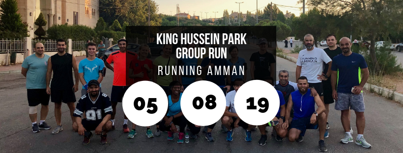 King Hussein Park Group Run @ Running Amman