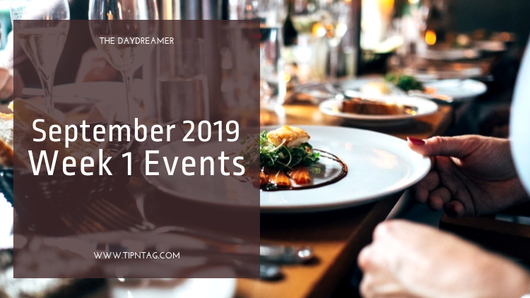 The Daydreamer - September 2019: Week 1 Events | Amman