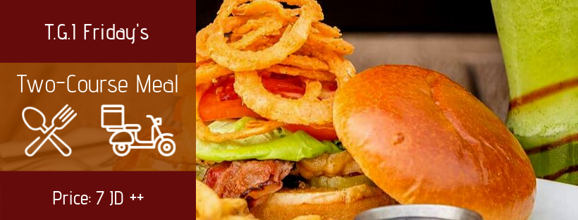 Lunch Offer at T.G.I Friday's