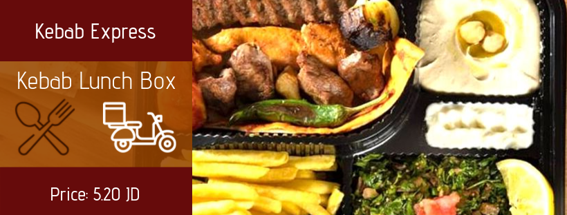 Lunch Offer at Kebab Express